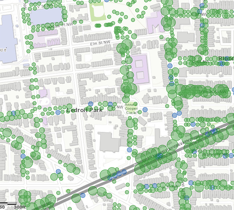 D C Street Trees Map Casey Trees